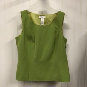 Green Liz Claiborne top